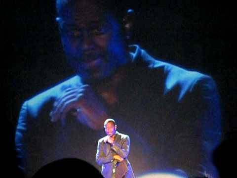 Brian McKnight - The Only One for Me Live Twin River 2010