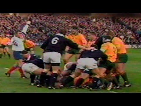 Scotland vs Australia 1996