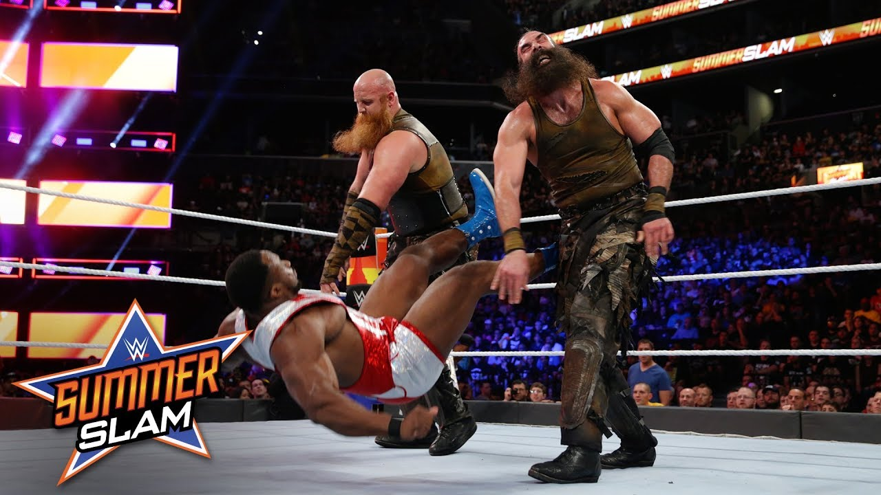 brutality reigns as the bludgeon brothers clash with the new day