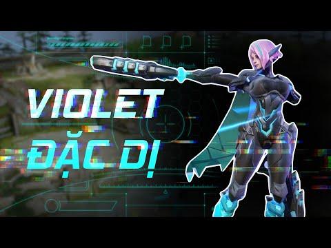 VIOLET ĐẶC DỊ   Cỗ máy hủy diệt   Trang phục mới - Garena Liên Quân Mobile