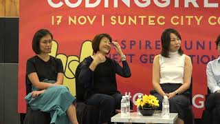 Panel: The Future Ofjobs And Diversity In A Global Business - CodingGirls Day 2018