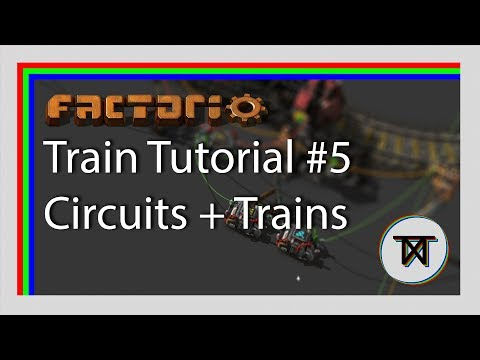 Mixing the circuit network and trains - Factorio 0.16 train tutorial #5