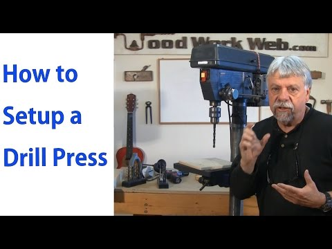 How to Setup and Use the Drill Press – Woodworking for Beginners #5