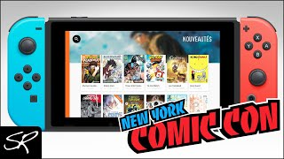 25,000+ Digital Comics on Nintendo Switch | New York Comic Con 2018