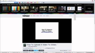How To Add A Vimeo Video To YourWordpress Blog