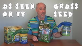 As Seen On TV Grass Seed Follow Up | EpicReviewGuys in 4k CC