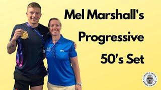 Mel Marshall's 50's set that prepared Adam Peaty for Rio Olympics