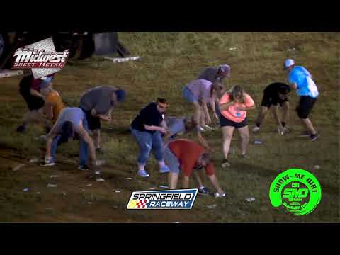 S03 E412 Indigo Sky Casino Raining money Flyin Farmer 55 Springfield Raceway 08-17-2019  Dirt Track