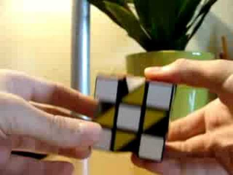 Half truncated cube with corners (Rubik