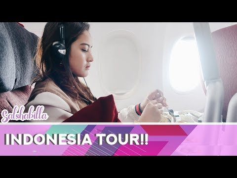 MY INDONESIA TOUR!! | SALSHABILLA