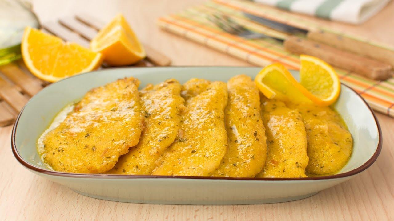 maxresdefault - Chicken Breast Cutlets in Orange Sauce - Breaded Chicken in Orange Sauce Recipe