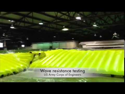 Water Gate Flood Barrier Tested By The US Army Corps Of Engineers Now FM Approved