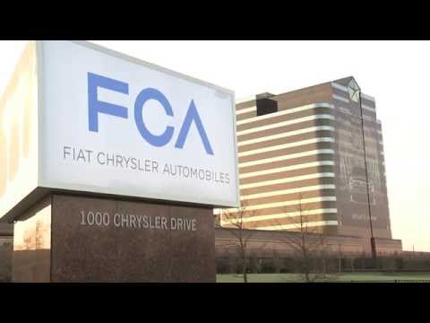 FCA Sign Revealed at Chrysler Group Headquarters