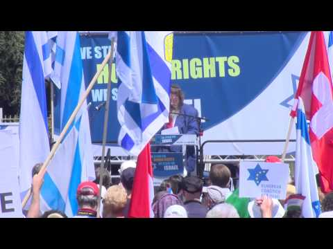 """""""We Stand For Human Rights – We Stand For Israel"""""""