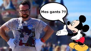 UNE JOURNEE AVEC LES GANTS DE MICKEY ?!!
