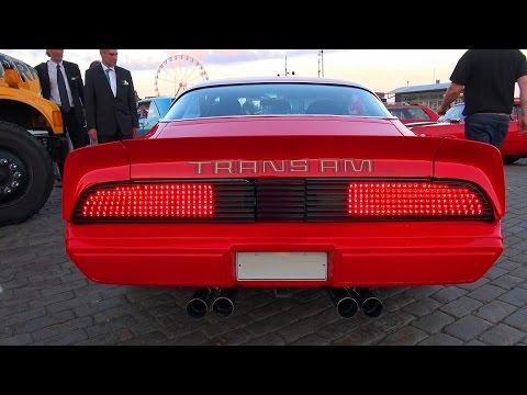 CUSTOM Pontiac Trans Am T/A 6.6 - Incredible V8 Sound!