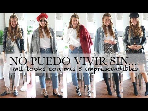 NO PUEDO VIVIR SIN... (mil looks con mis 5 imprescindibles!) / BARTABAC.TV