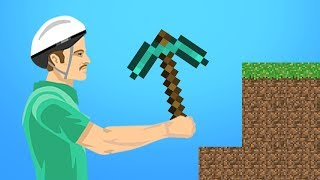 MINECRAFT IN HAPPY WHEELS!