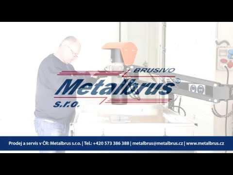 Metalbrus - Manuální odjehlovací stroj METAGRIND M01