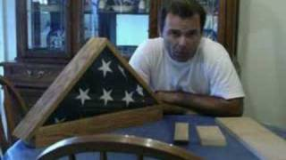 Building Your Own Flag Display Case/ Video/