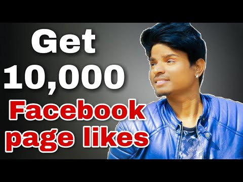 how to get 10000 likes on your facebook page