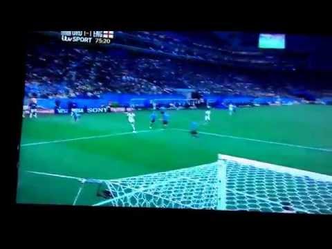Wayne Rooney's Goal vs Uruguay (itv Sport)