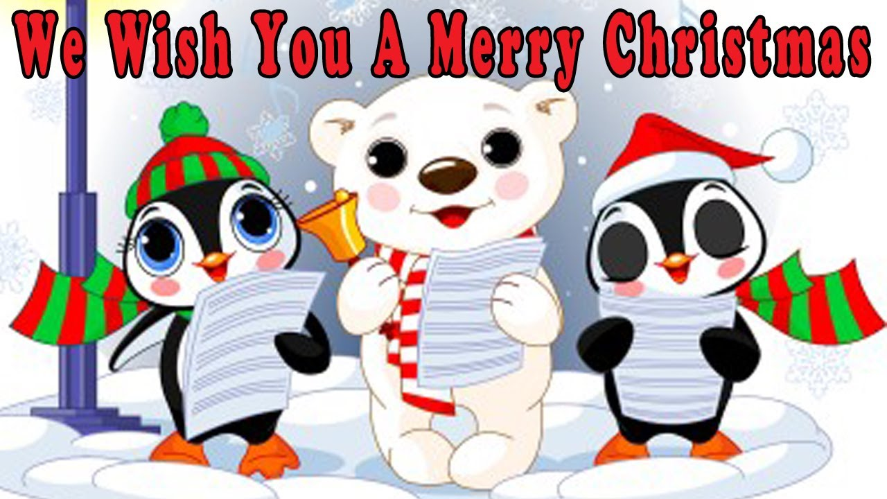 photo about Lyrics to We Wish You a Merry Christmas Printable referred to as Xmas Tunes for Small children with lyrics - We Desire Yourself a Merry Xmas - by means of The Studying Station
