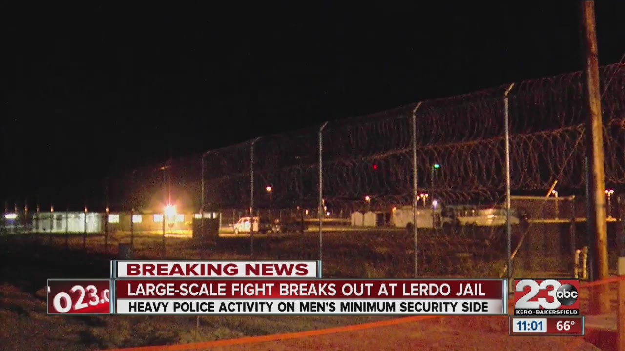Large-scale fight at Lerdo Jail