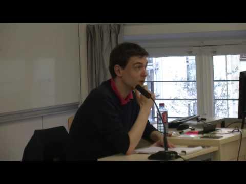 Conférence SPIV - Etat et Violence - Geoffroy de Lagasnerie
