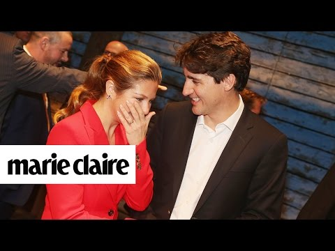 Justin Trudeau's Message to Wife on Her Birthday Will Ruin Your Eye-Makeup & More | Marie Claire