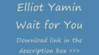 Elliott Yamin - Wait For You - Instrumental + Download Link