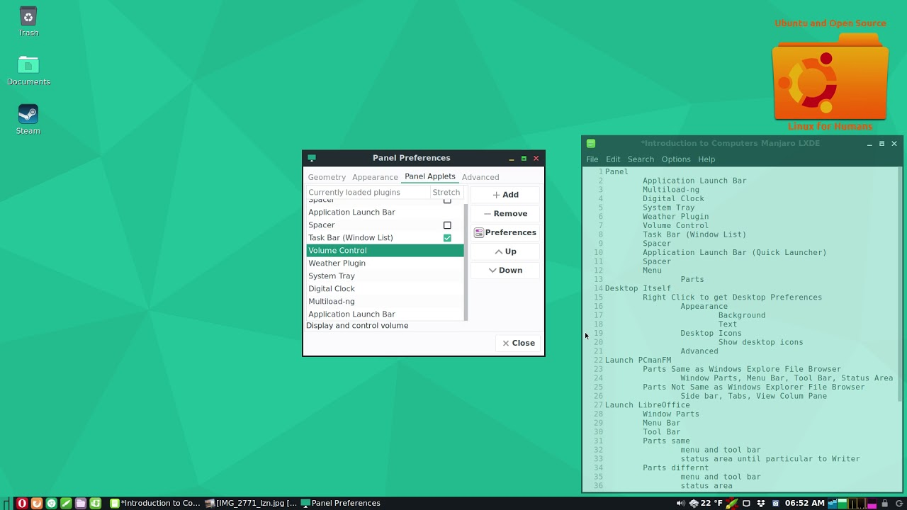 Introduction to Comuters, A Manjaro LXDE Desktop - игровое