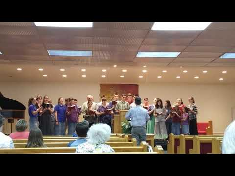 """""""Jesus Died and Paid It All""""  Liberty Faith Church Youth Choir   April 26, 2020"""