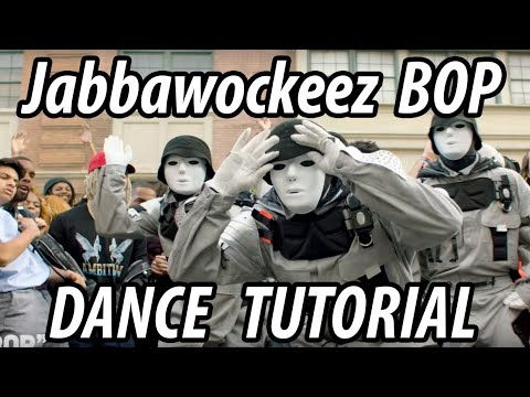 "JABBAWOCKEEZ – DaBaby ""BOP"" Dance Tutorial How to Bop on Broadway"