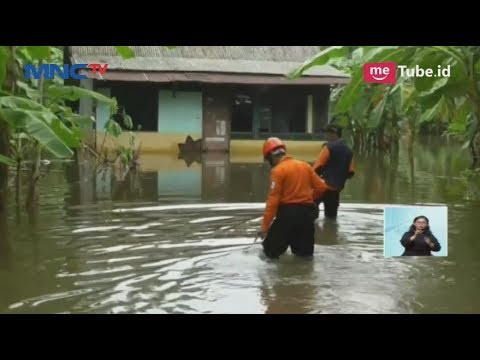 Akibat Hujan Deras dan Sungai Meluap, Ribuan Rumah Warga Cilacap Terendam Banjir - LIS 14/11