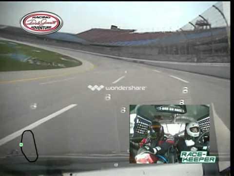 Brandee's 6-lap Drive At Talladega (Dale Jarrett Racing Adventure)