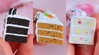7 DIY Miniature Cakes | Polymer Clay Tutorial Compilation