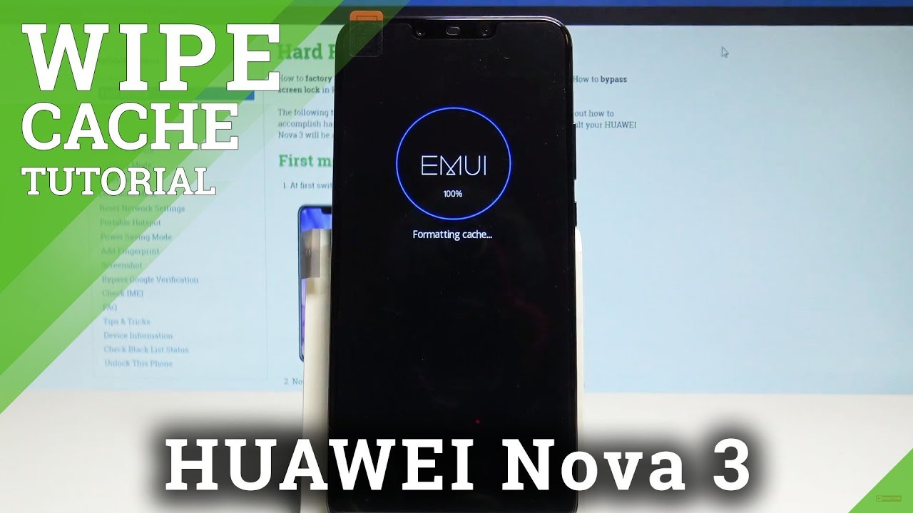 How to Wipe Cache Partiton on HUAWEI Nova 3 - Reset Cache / Refresh EMUI