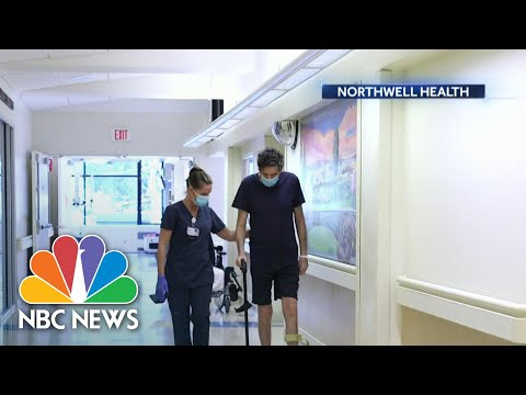 Many Coronavirus Patients Face Months Of Recovery After Leaving The Hospital | NBC Nightly News