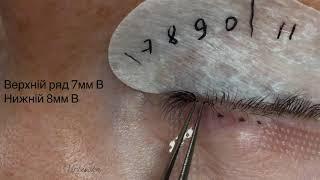 проработка внутреннего угла правого глаза . Работа с рядами . Рядность . Работа с изгибами