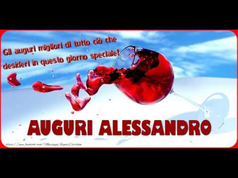 Tanti Auguri A Te Alessandro Youtube