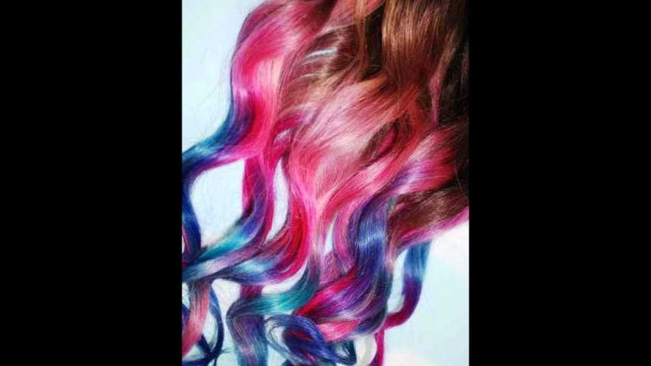 Custom Ombre Colors From Eclectic Hair Extensions Youtube