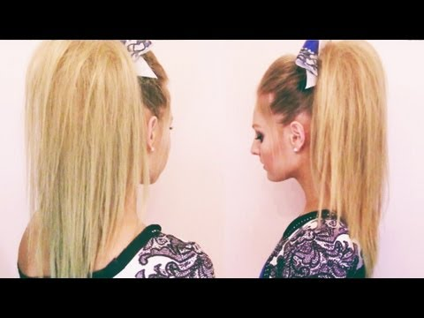 Cheer Hair Tutorial