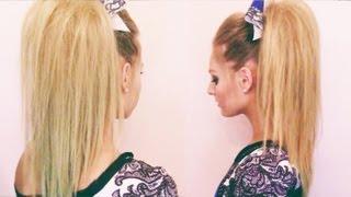 Cheer Hair Tutorial Thumbnail