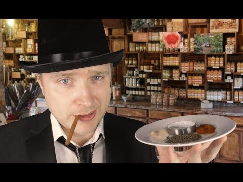 ASMR Raymond The Merchant - The Spice Route & The Story Of Emma
