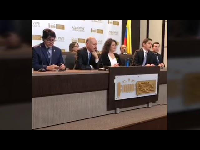 Rueda de prensa: Reforma constitucional sobre el proceso de elección del Fiscal General