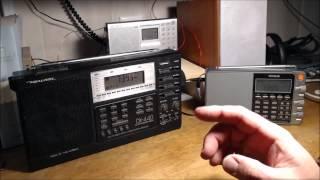 Shortwave Shootout:  Realistic DX-440 vs Tecsun Pl-880