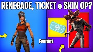 FORTNITE-RENEGADE RAIDER, DEMOGORGON APPEAL and FREE REFUND?