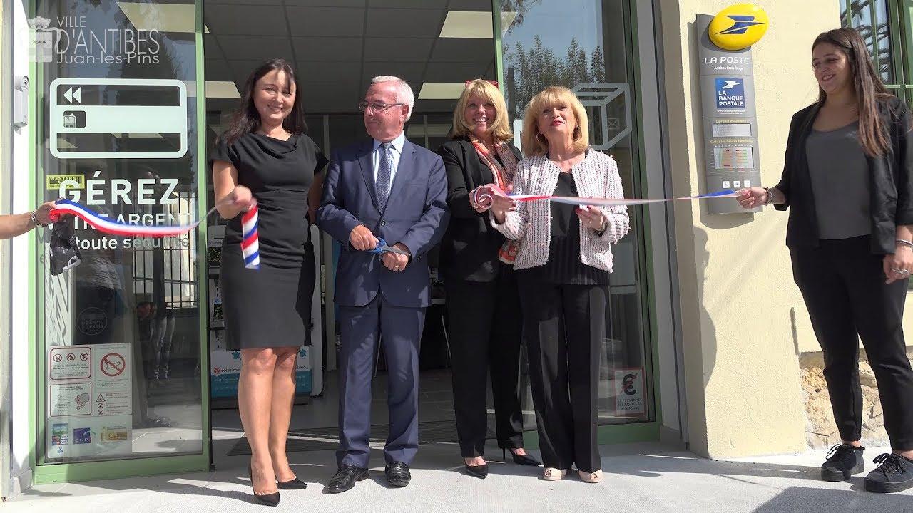 Nouveau bureau de poste au village croix rouge youtube