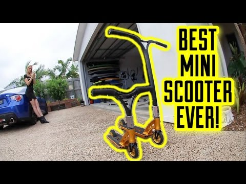 THE RYAN WILLIAMS MINI SCOOTER!